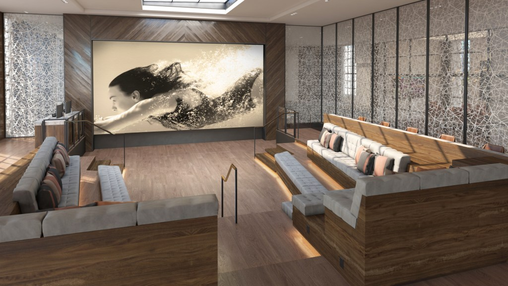 A rendering of a collaborative at a Signia Hilton property. Image courtesy of Hilton.