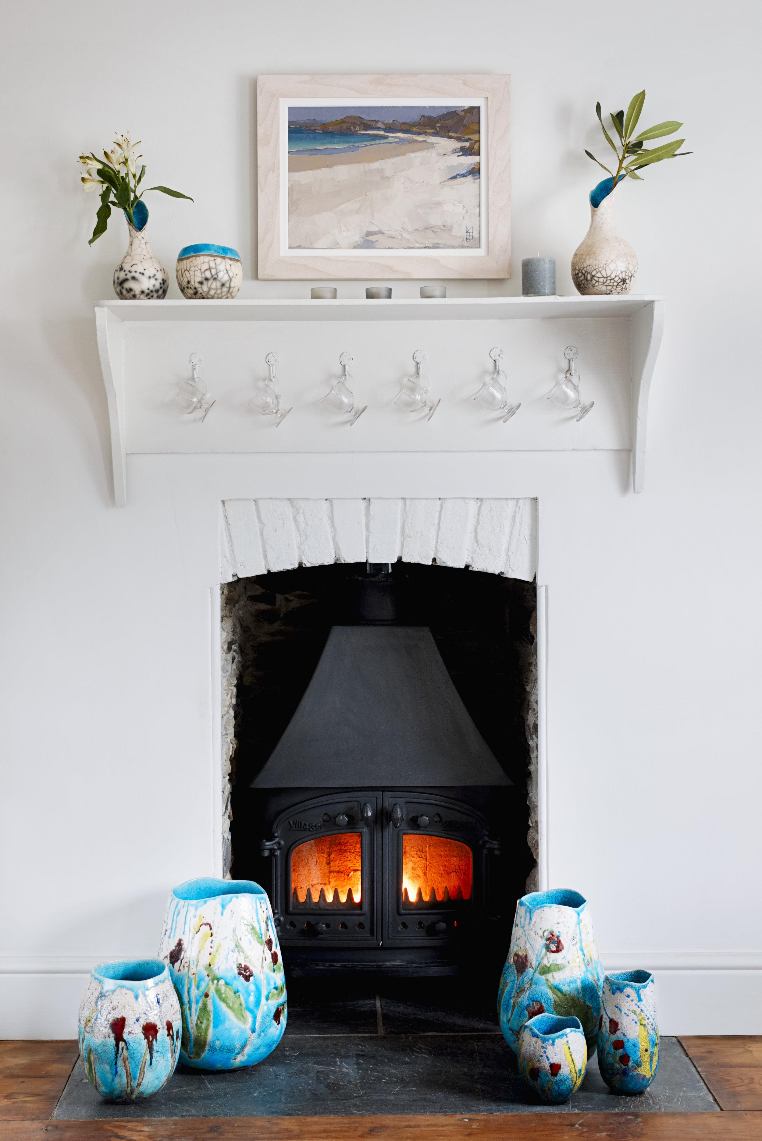 Pots by fireplace_Lucktaylor Ceramics.jpg