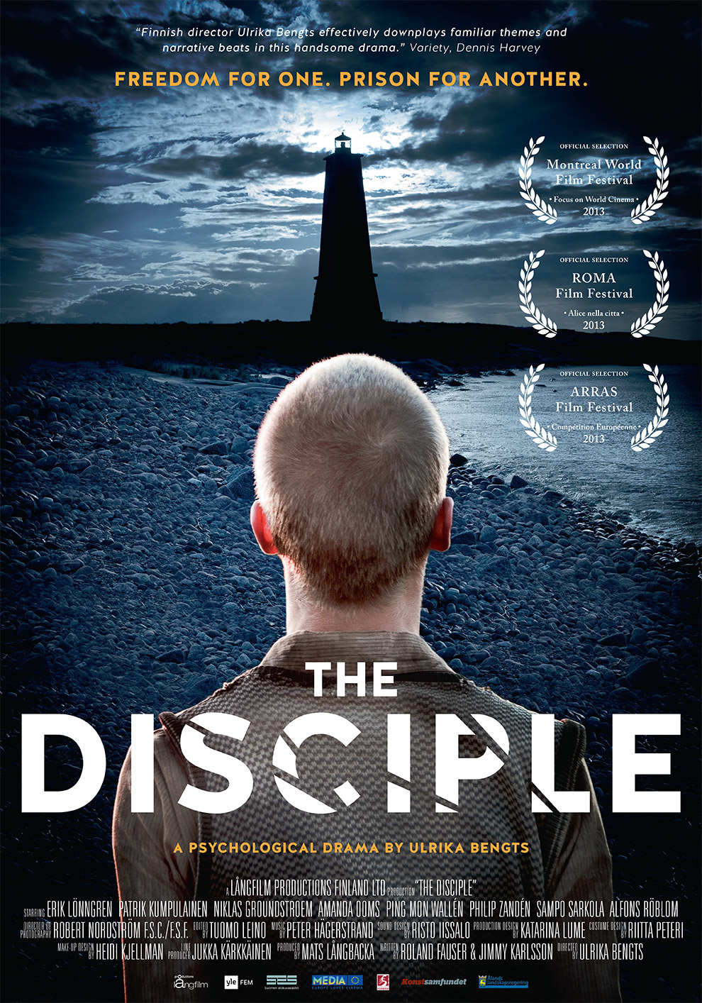 The Disciple - World premiere in Montreal International Film Festival and Finland's official selection committee as the Finnish contender for the Oscar Awards in 2013