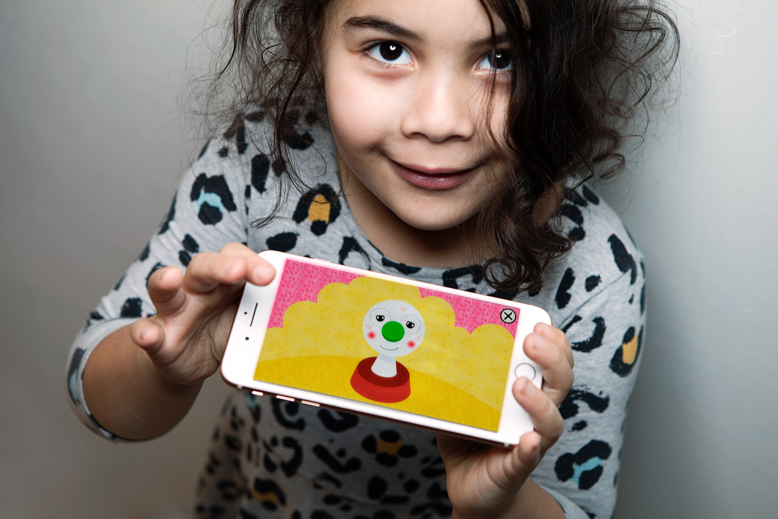 Buu-klubben app is made for children aged 3-7 yr. Demo workshops were made with kids several times during prototyping.