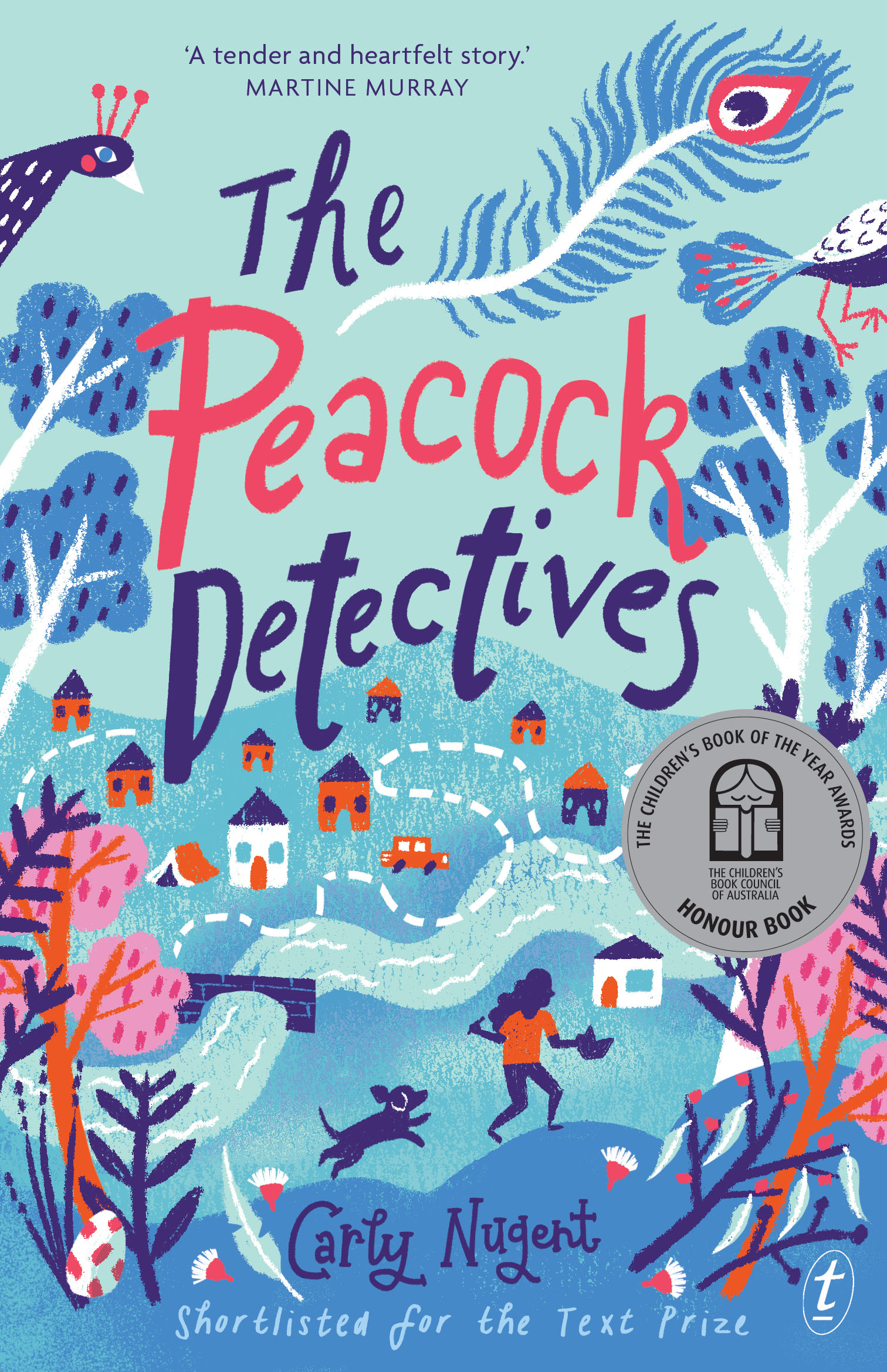 The Peacock Detectives by Carly Nugent   Disclosure: Advance reader copy made available in exchange for an honest review.