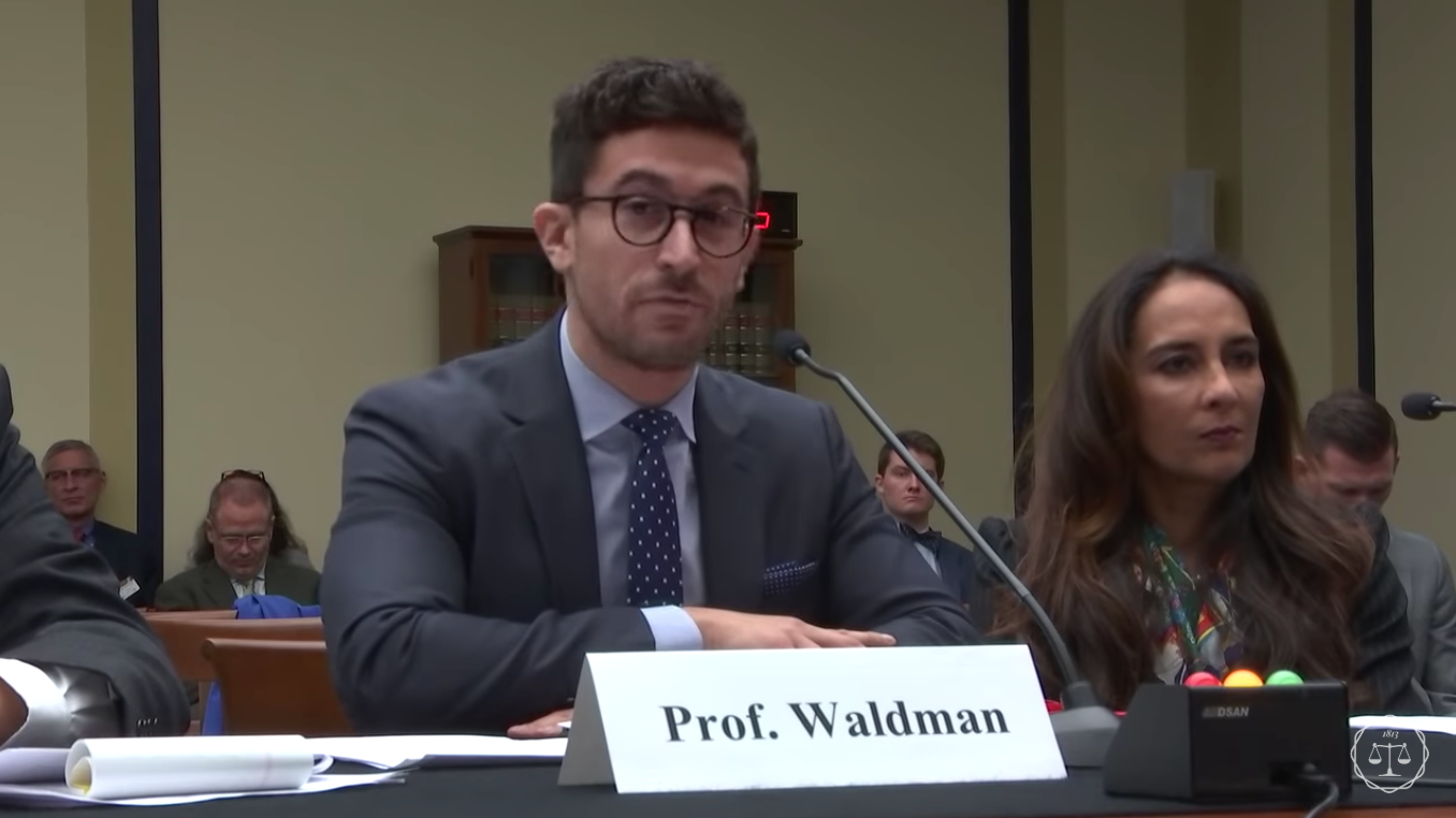 Committee on the Judiciary, U.S. House of Representatives , September 27, 2018  I testified a second time before the House Judiciary Committee on alleged anti-conservative bias on social media platforms. My written testimony is available  here .