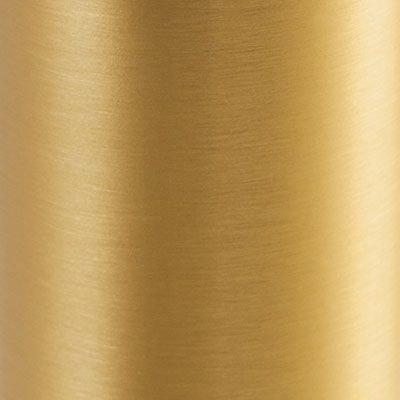 20 Brass Plated Aluminium
