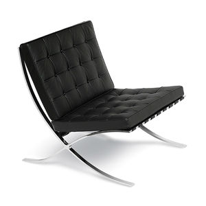 Barcelona Lounge - Barcelona Lounge Chair Replica is a high-end reproduction 100% Made in Italy.It is a chair designed by Ludwig Mies van de Rohe and Lilly Reich.