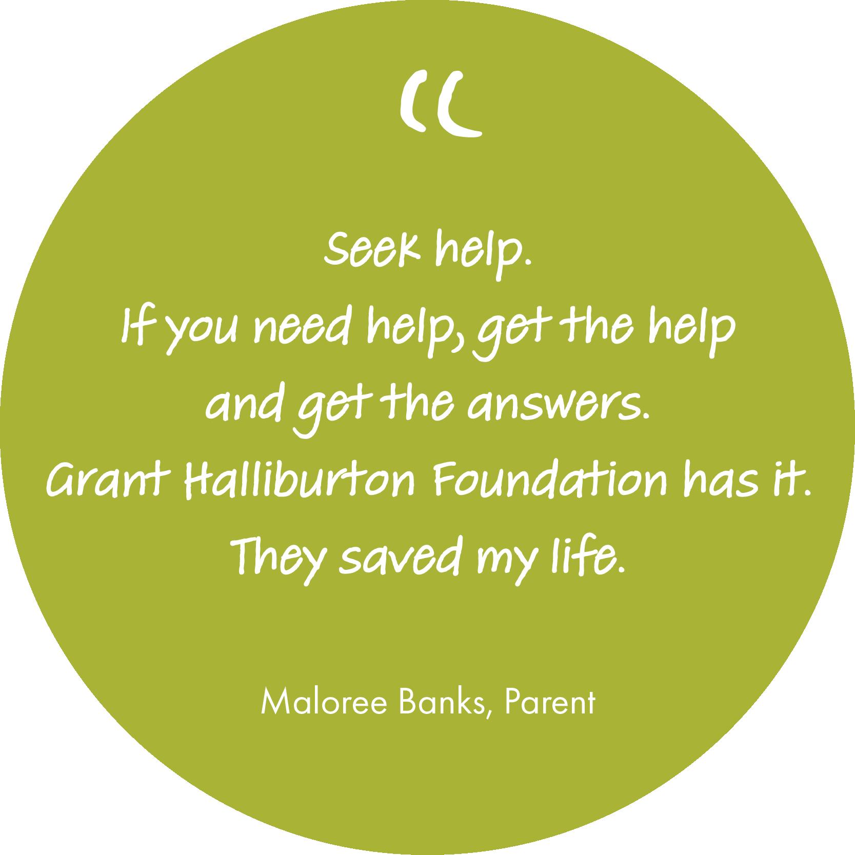 Maloree Banks Quote