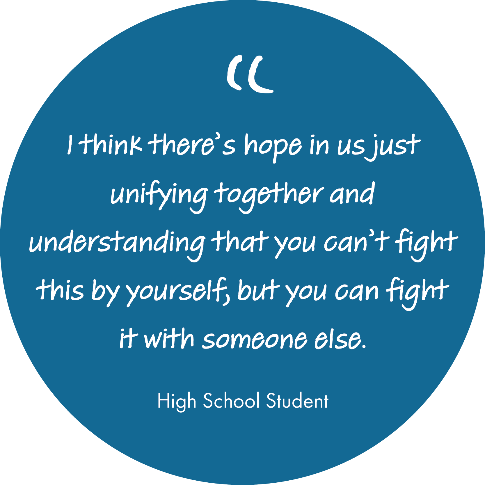 High School Student Mental Health Quote