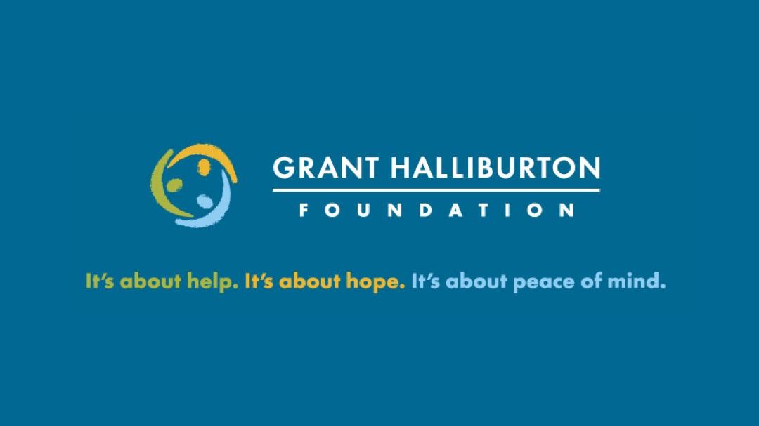 GHF Logo Blue Background