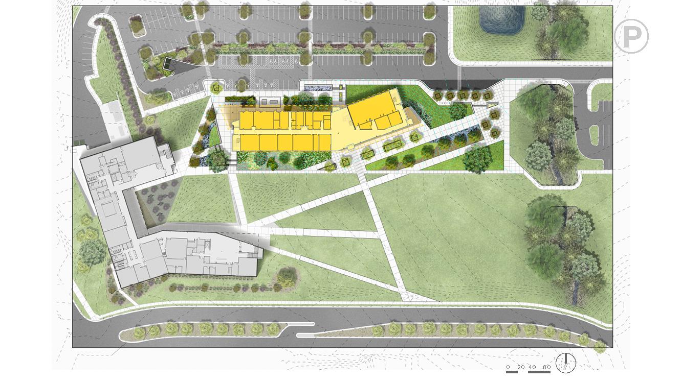Wake Tech Community College Rtp Building 2 Parc Design Lab