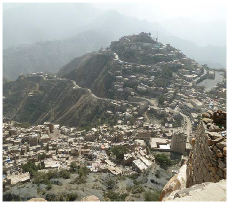 Hajjah is the capital city of Hajjah Governorate in north-western Yemen. It is located 127 kilometres northwest of Sana'a