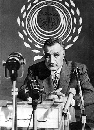 Gamal Abdel Nasser -  IBL/REX/Shutterstock.com