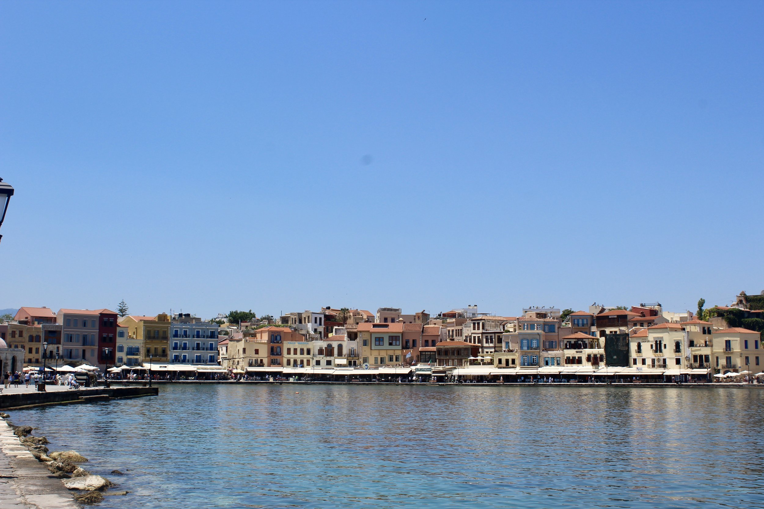 The Venetian Harbor in Chania is one of the most photographed areas of Greece!