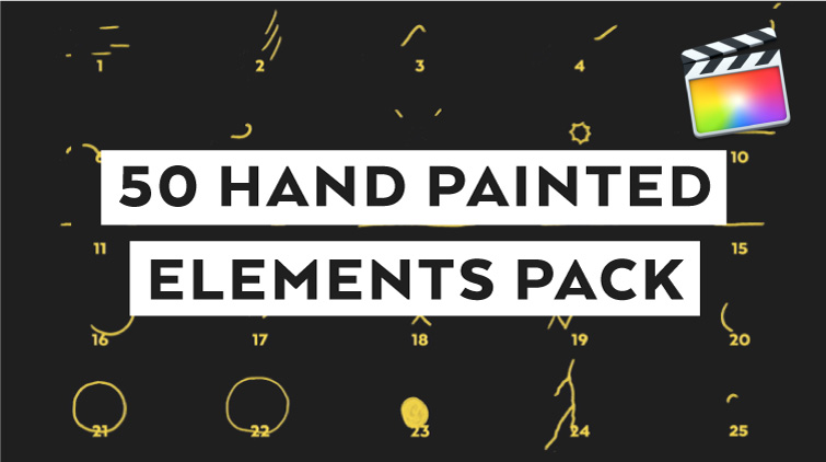 Hand Painted Elements for FCPX - CHECK IT OUT!