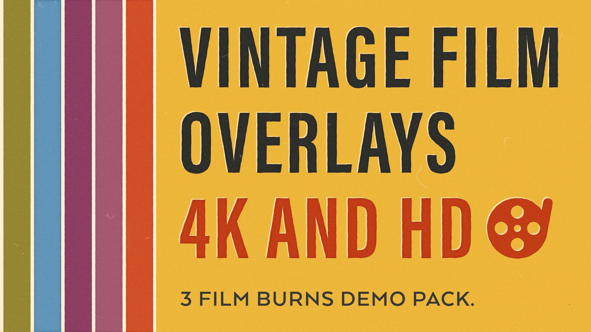 7 Vintage Film Burns