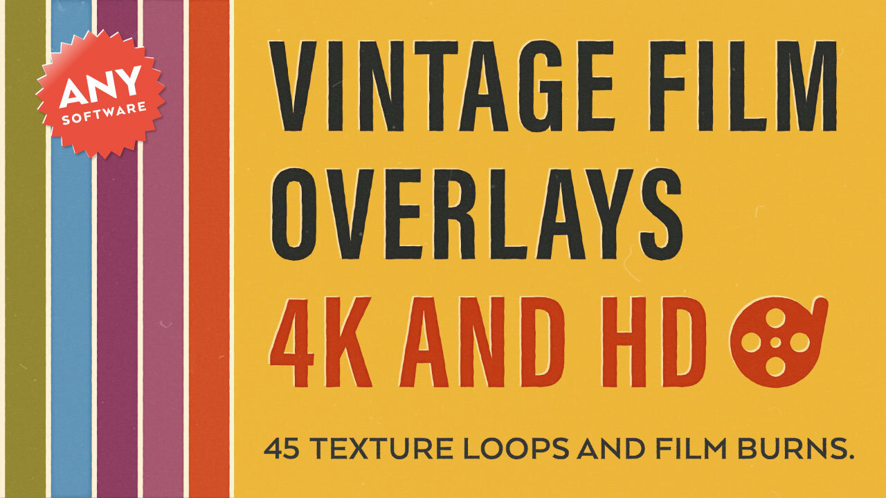 Vintage Film Overlays - CHECK IT OUT!