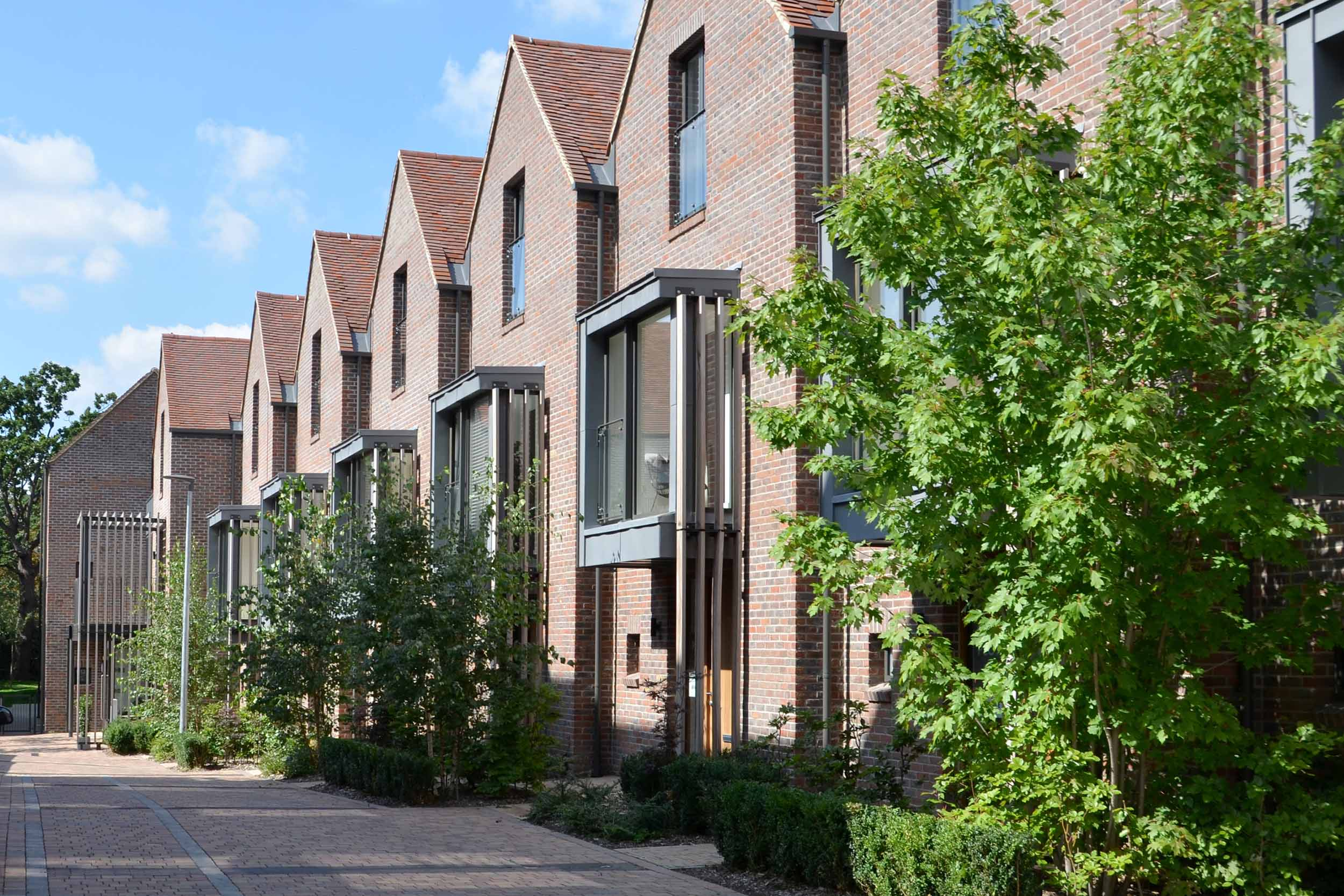 Mews Housing at  Woodside Square .