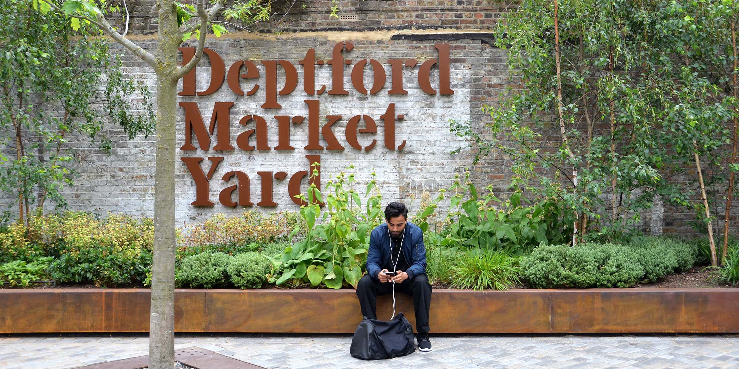 Deptford Market Yard Lewisham, London