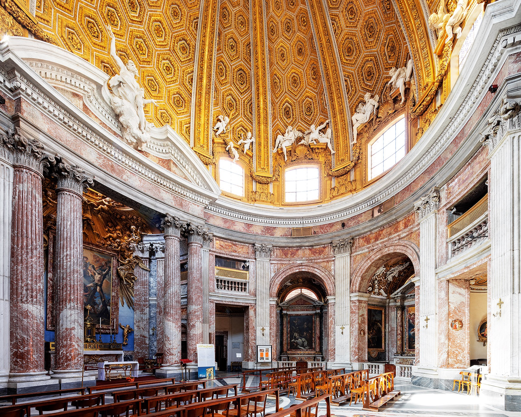The Church of Saint Andrew's at the Quirinal