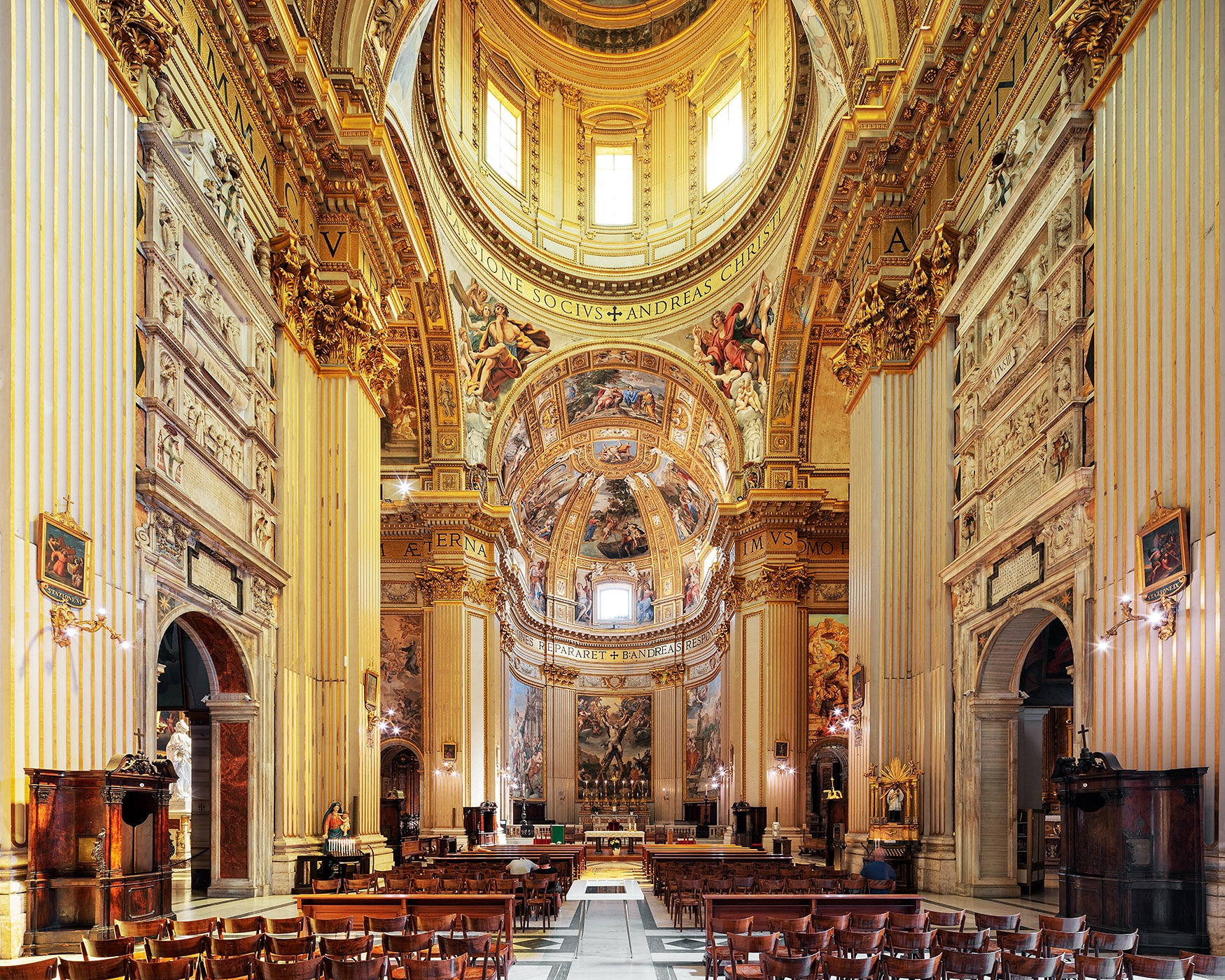 The Church of Sant'Andrea della Valle I
