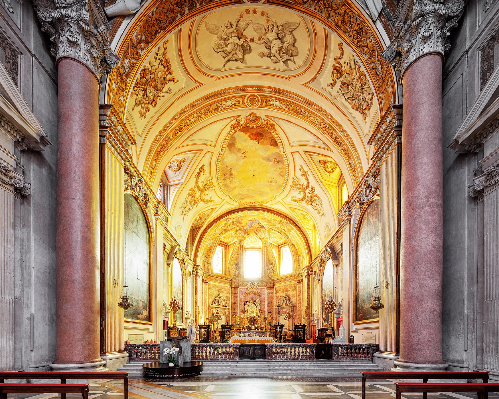 The Basilica of St. Mary of the Angels and the Martyrs