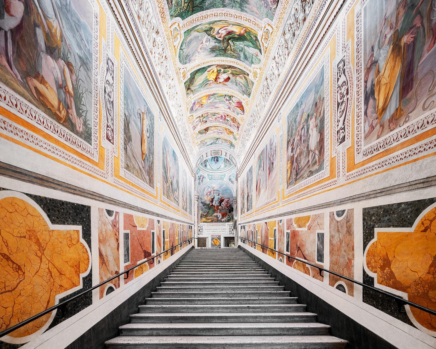 Corridor at Scala Sancta