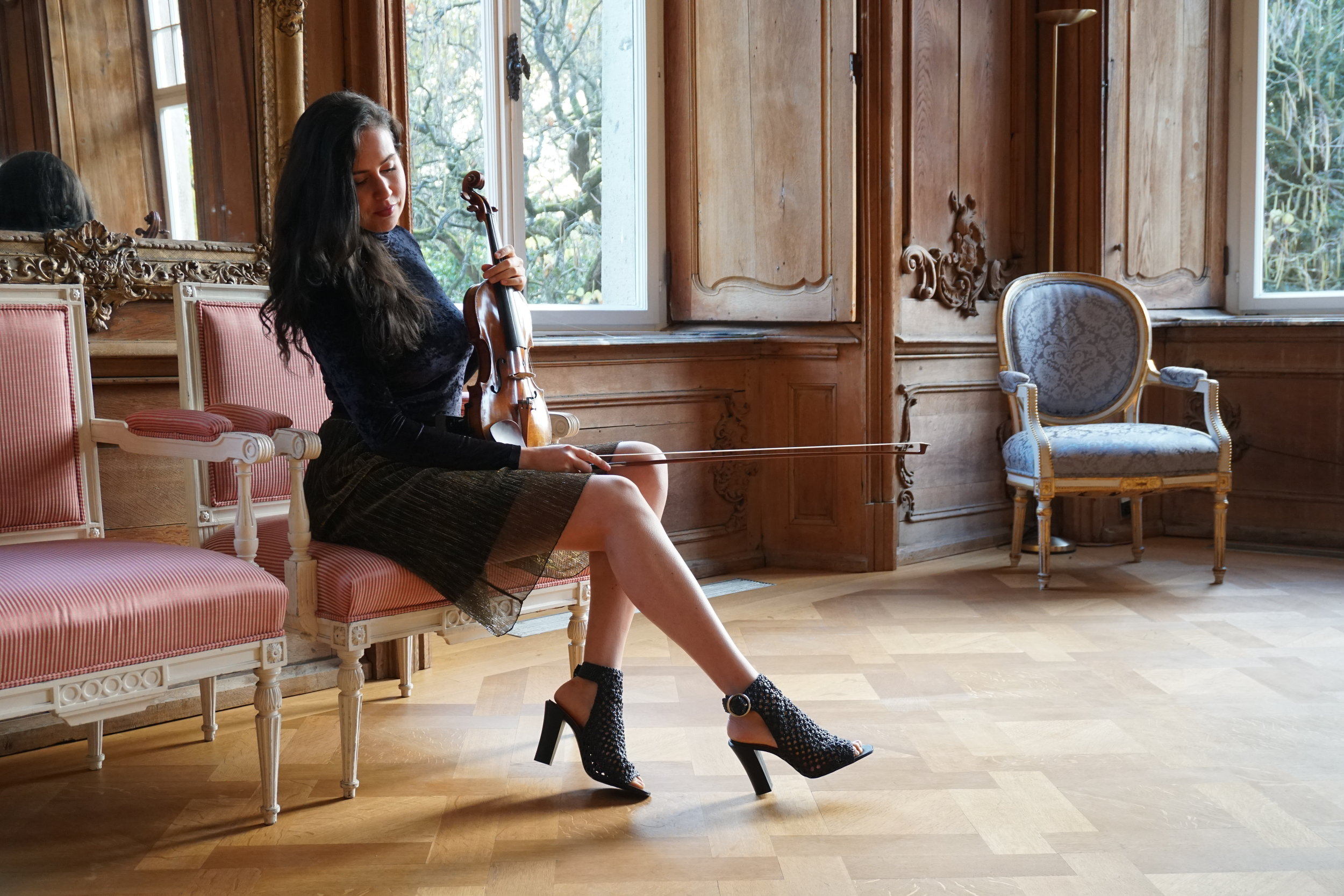Even though she played in the most beautiful concert halls of the world, with her actual concert program Lelie comes closer to her dream combining elements of Classical Music and outstanding Soundtracks to a new and unique music experience and takes the listener on to a very special musical journey. -