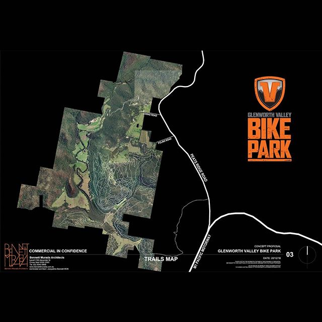 Here's our map for the proposed trail network at Glenworth Valley Bike Park.  Owner and Director of Synergy Trails, Adrian Main, has spent the last 6yrs developing this network and he has literally walked all 120k's and flagged the lot...an incredible effort considering the landscape.  The gravity trails are going to be next level, and the Cross Country adventure will leave you breathless...but in a good way!  For now Stage 1 will be all gravity, yet closely followed by stage 2 and the beginnings of the XC network.  Cheers for your support this far, and if you are sitting on the fence and are interested in making a donations then please follow the link in our bio ✌ https://gogetfunding.com/gvbp/