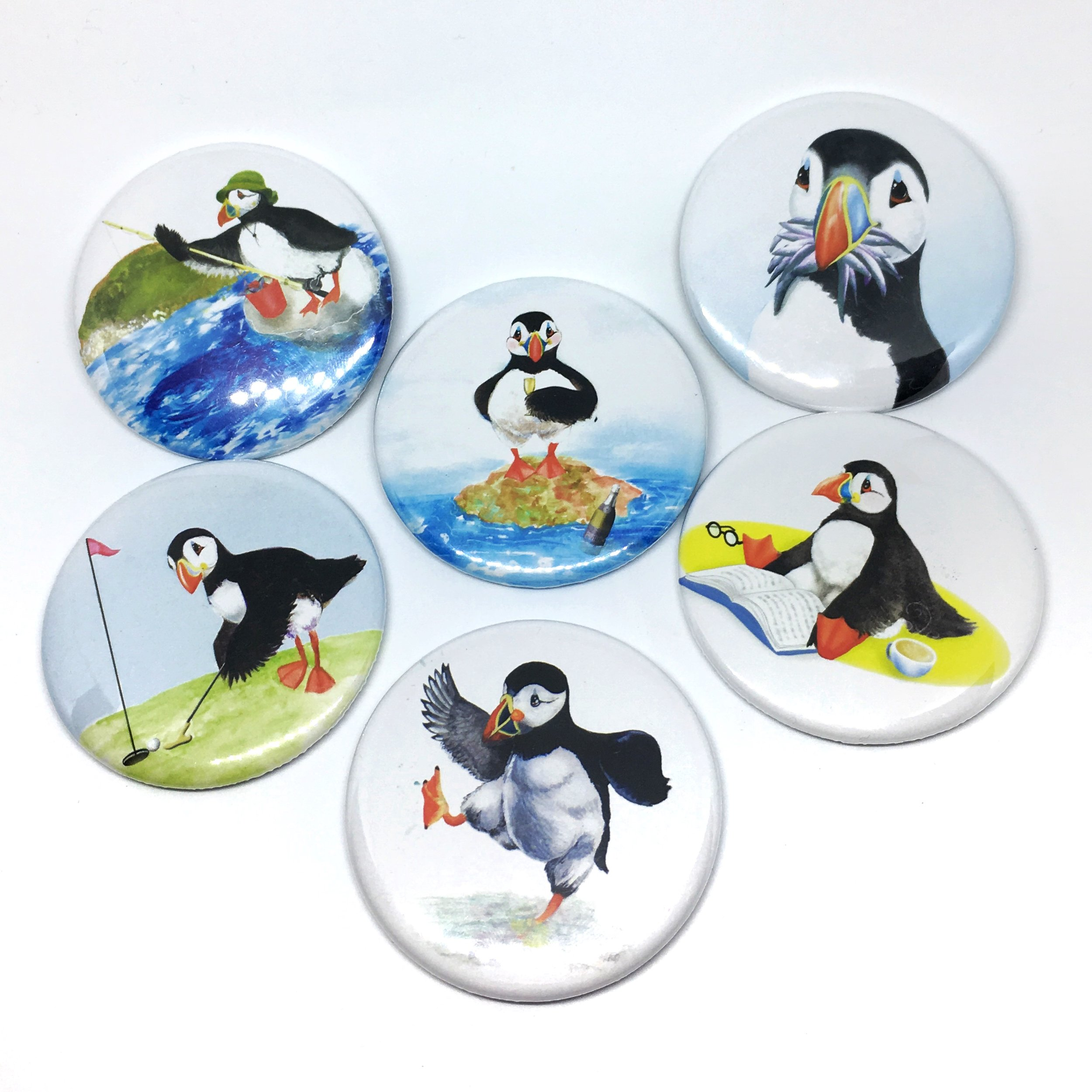 Puffin Prints Magnets
