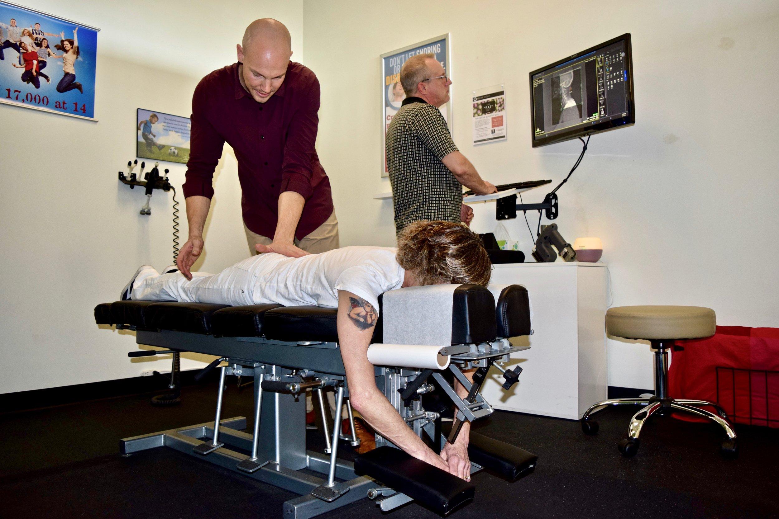 Max Chiro Dr Tim Adjust Sharon Terry XRay Overlook .jpg