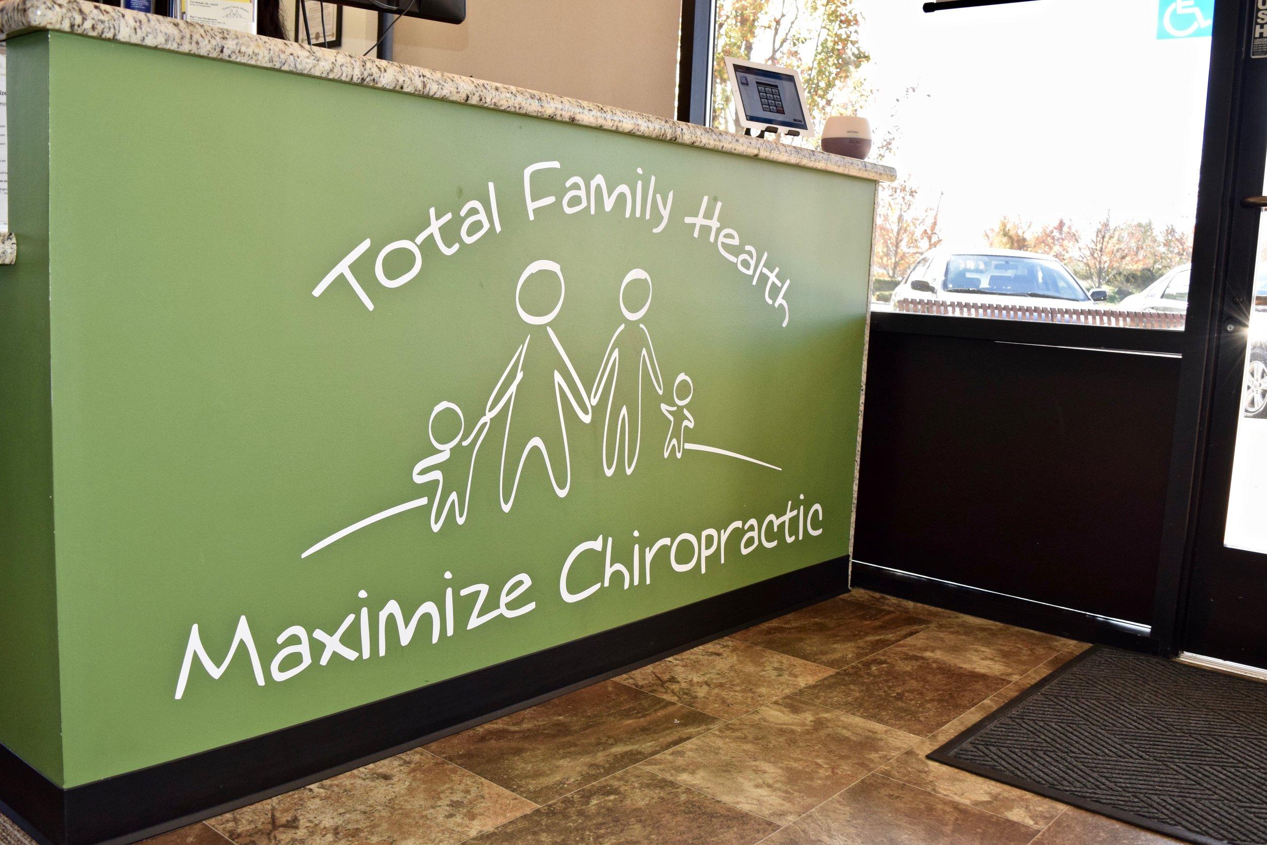 2210 Lake Washington Boulevard, Suite #130 West Sacramento, CA - Monday thru Friday - 8am to 6pmTotal Family Health