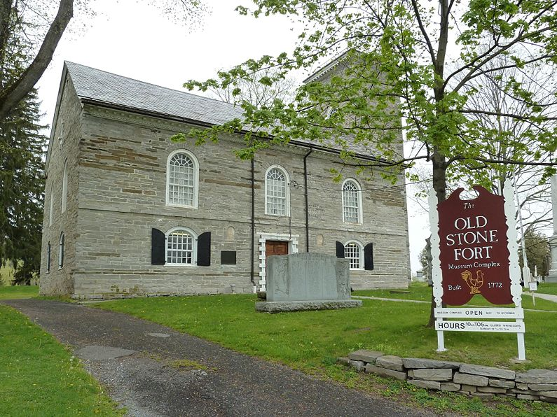 Old Stone Fort, Scho. Co. Hist. Soc.: County historical museum, Books on local history; gift shop.