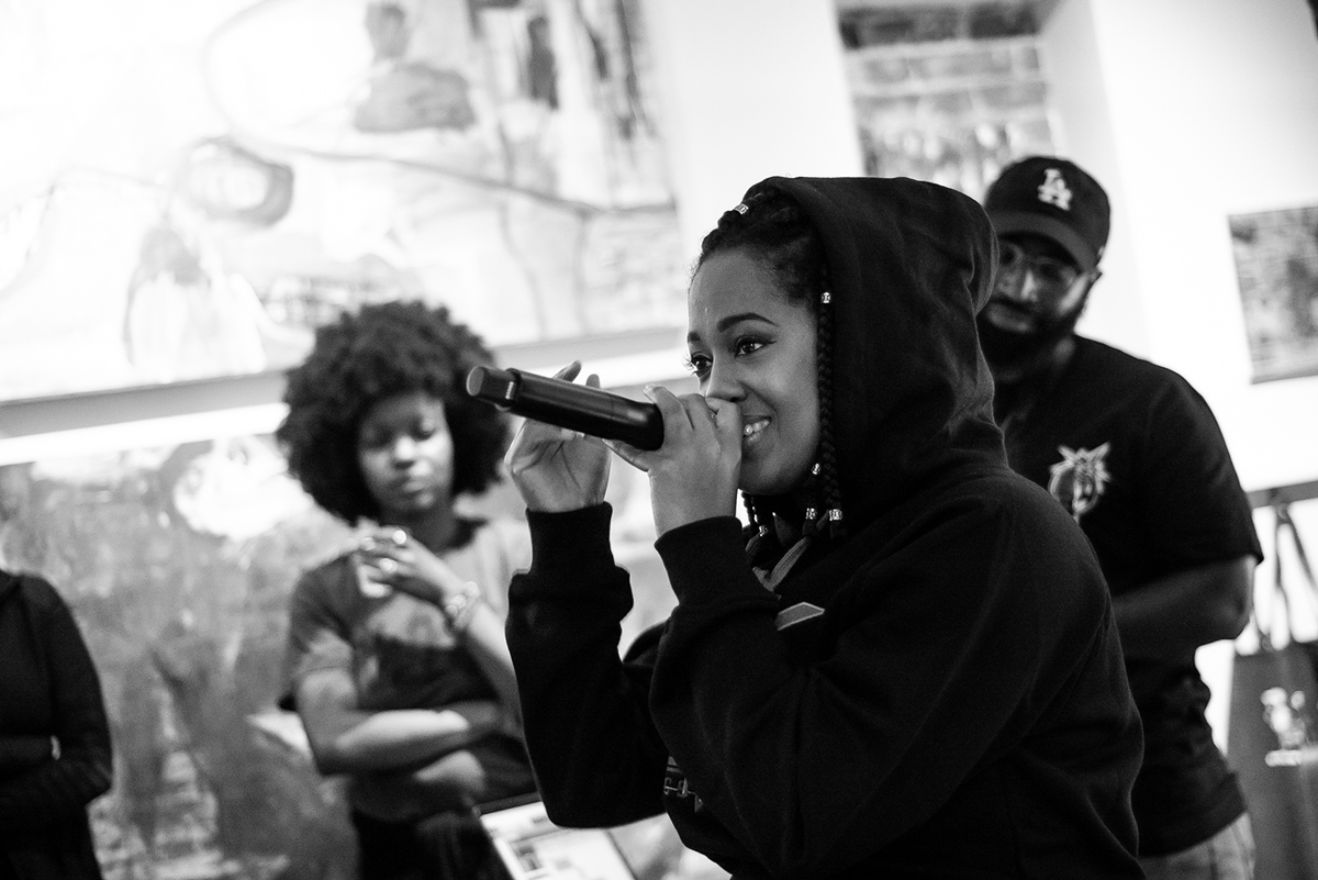 Rapsody and The Stormtroopers at ArtFarm Annapolis.