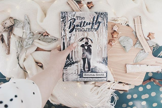 Kind of excited to read this, heard so many good things about it. • • •  The Butterfly project by Emma Scott. • • •  This is a new adult, contemporary romance book. • • •  #newadultbooks #bookaholic #booklover #book #bookstagram #bookshelf #bookish #bookworm #bookobsessed #bookphotography