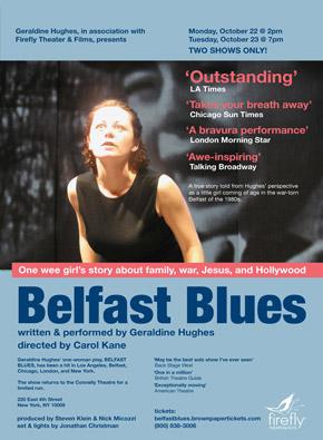 Belfast Blues poster