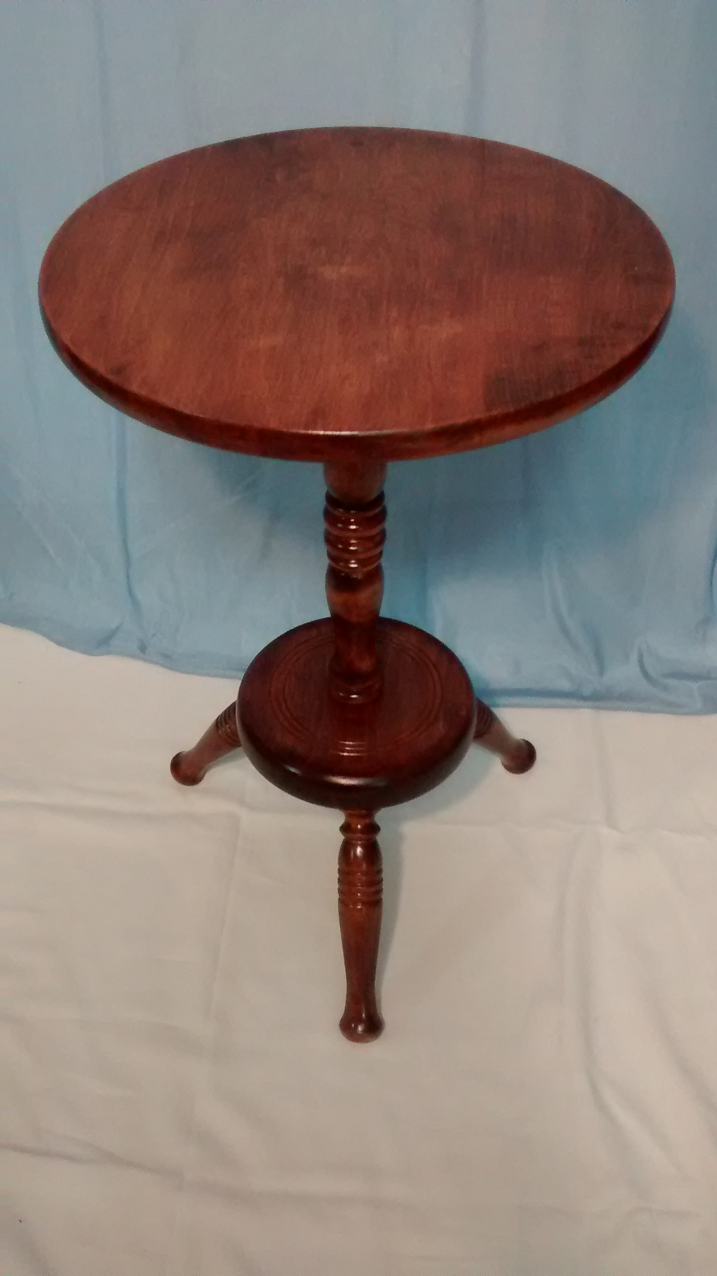 Refinished Classic Wooden Occasional Table