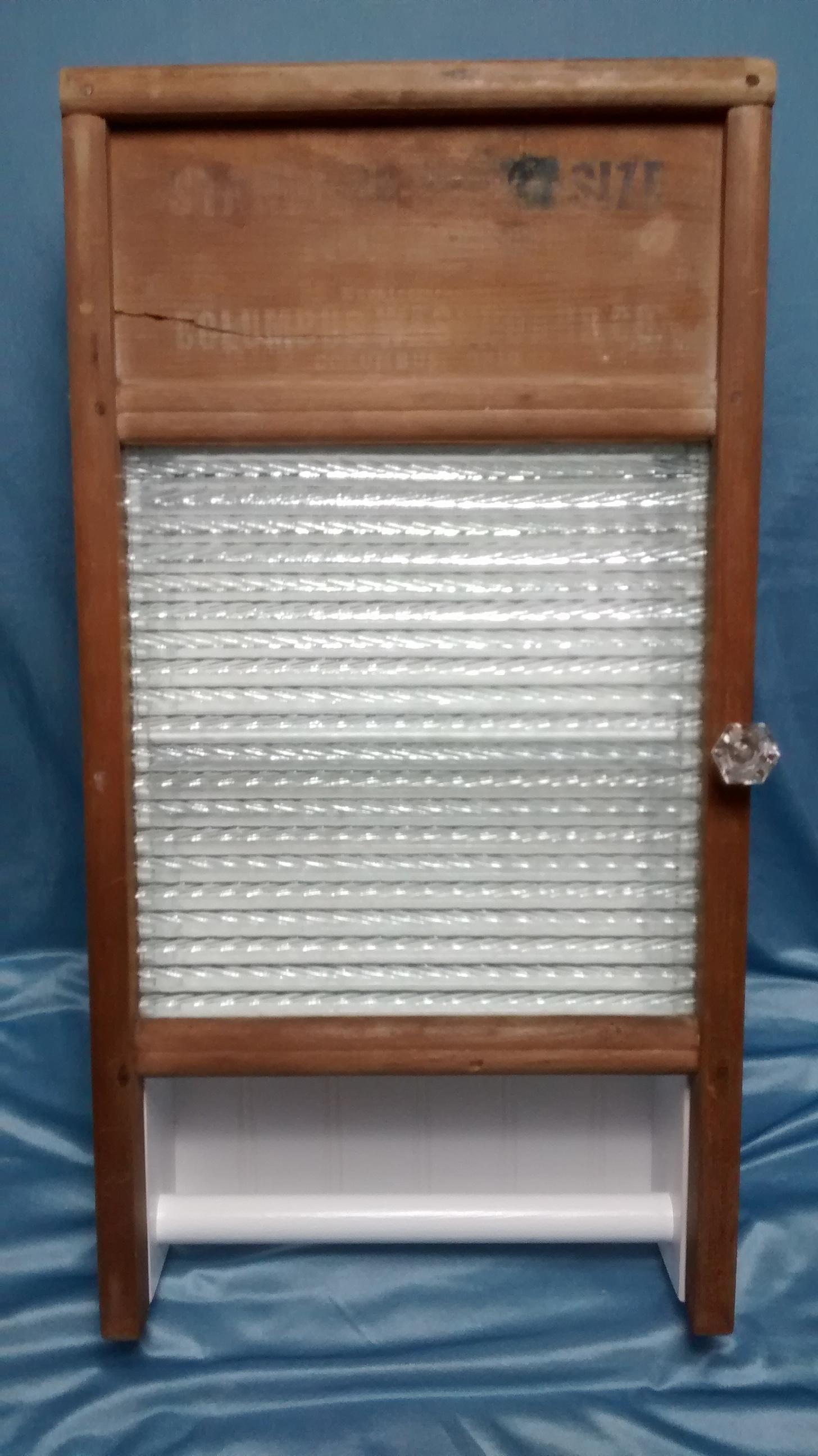 Glass Washboard Cabinet #2
