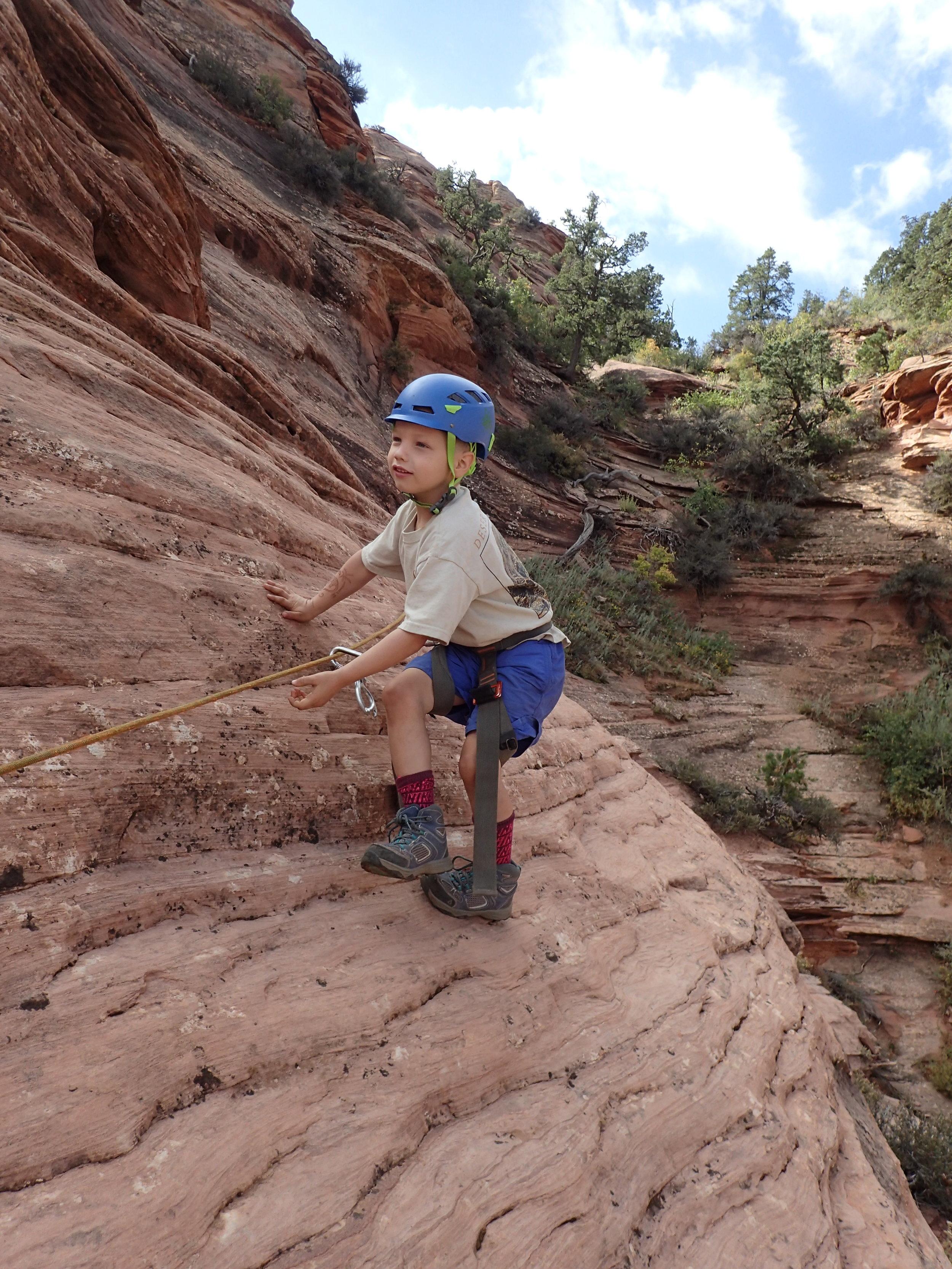 activity level 2-4 - canyoneering