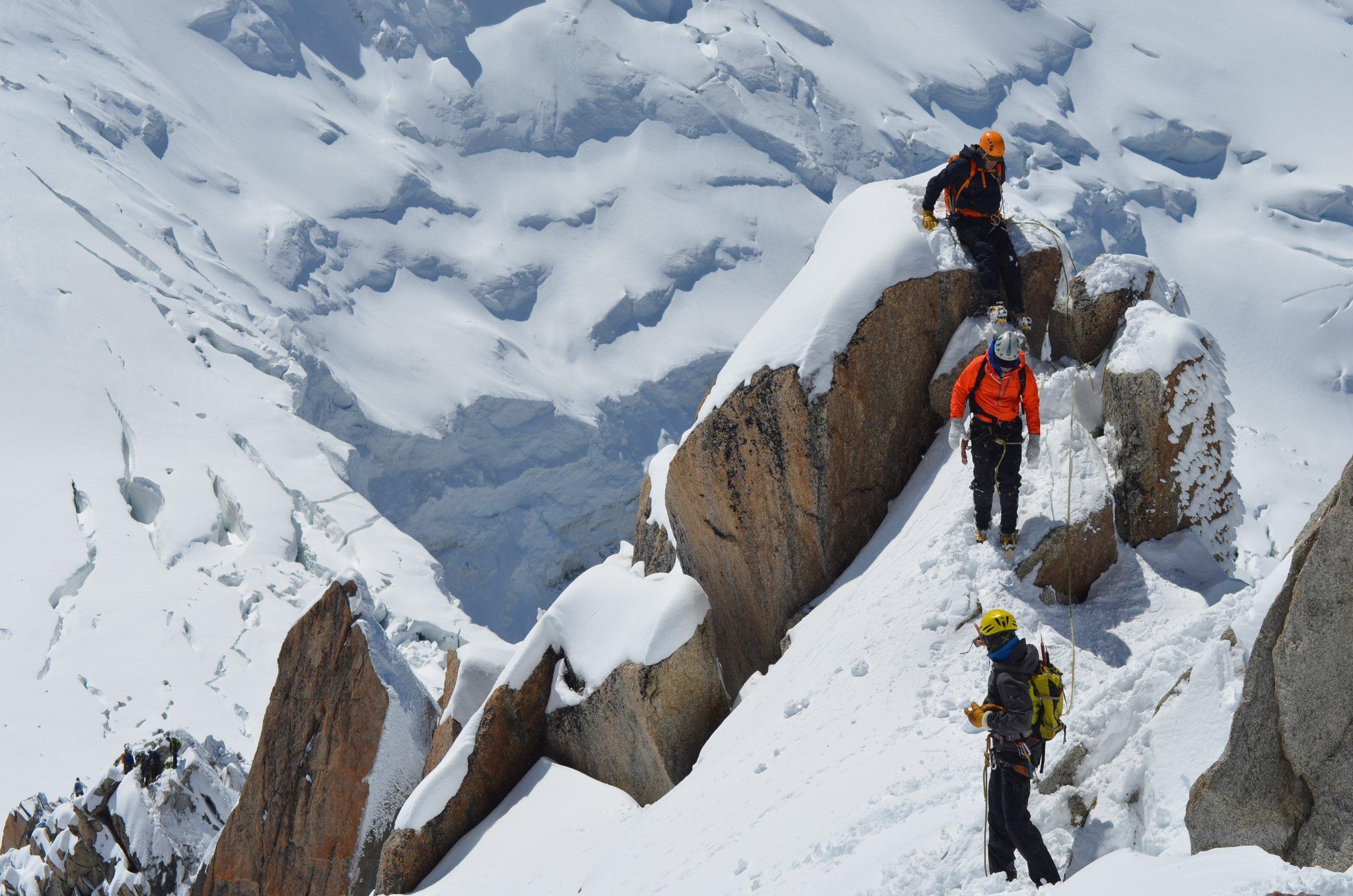 trekking mont blanc -