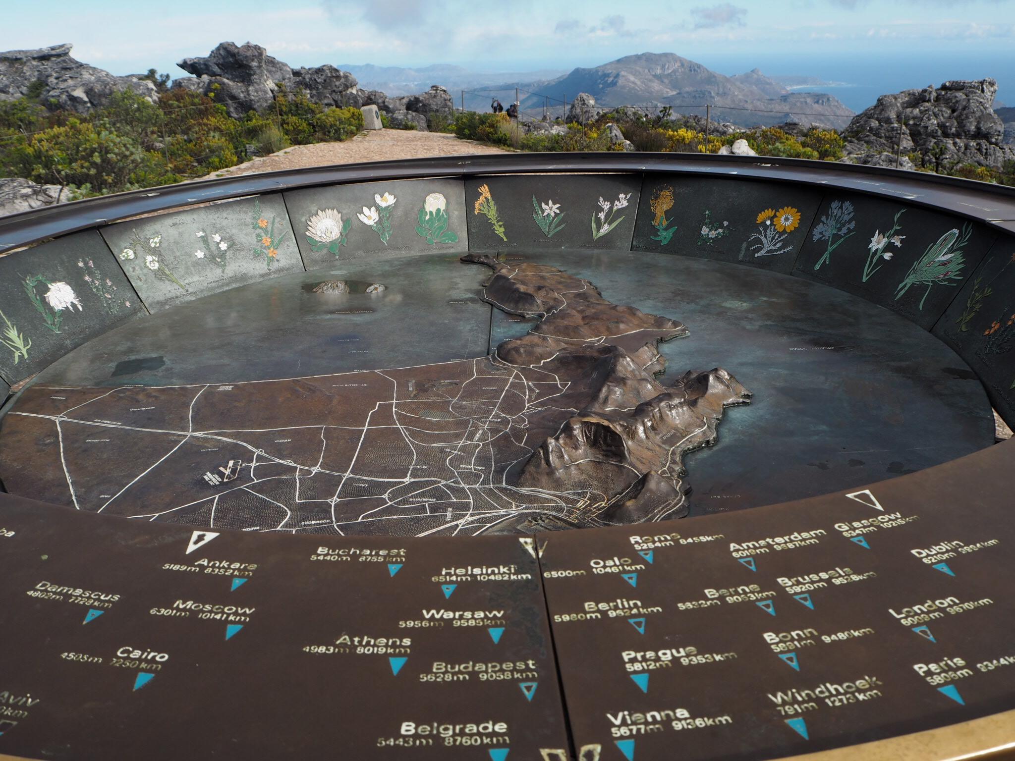 Views towards the Cape Peninsula.