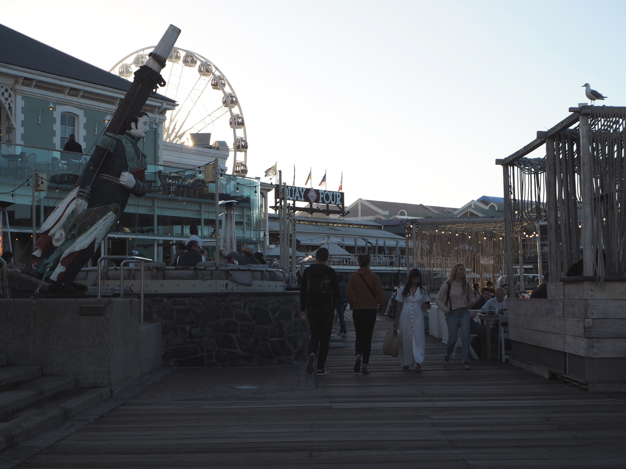 Boardwalk at the V&A Waterfront.
