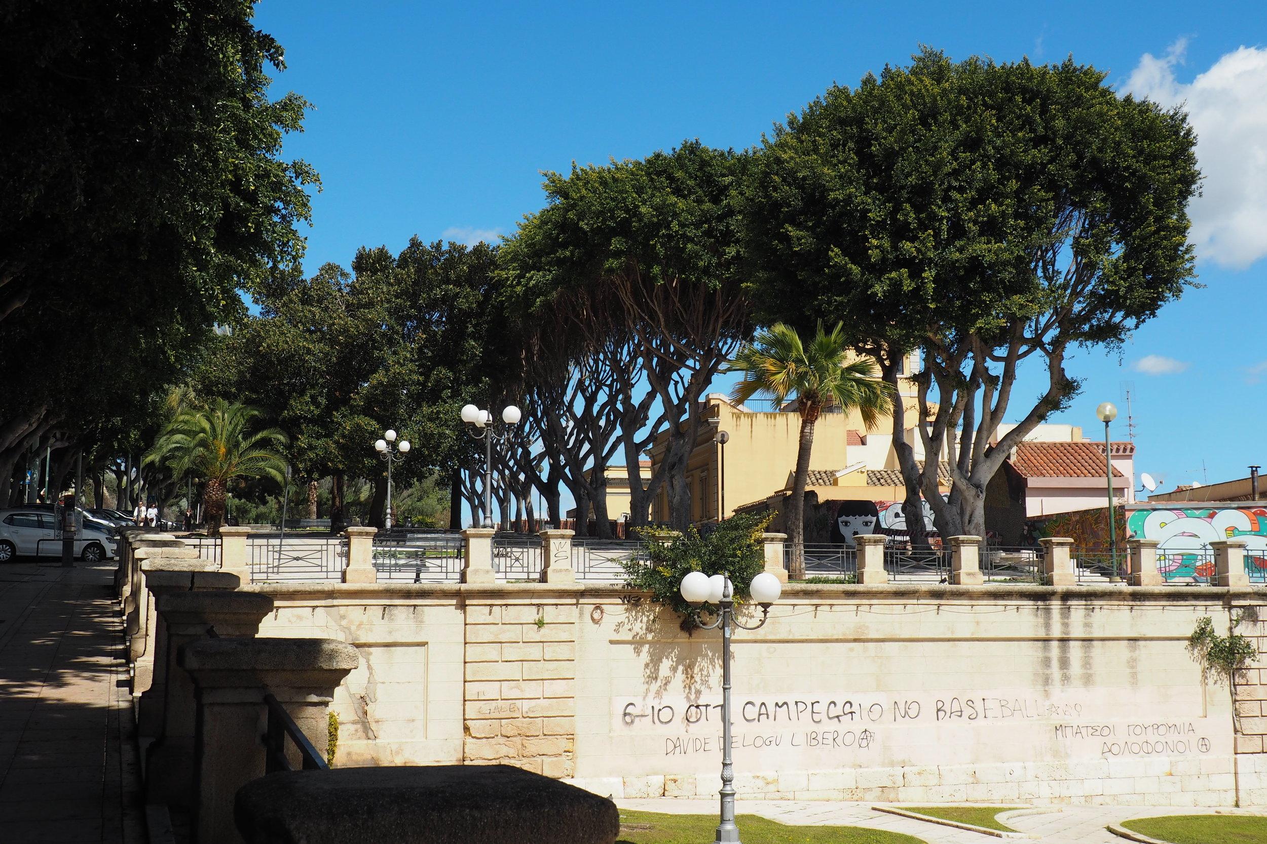 Cagliari views