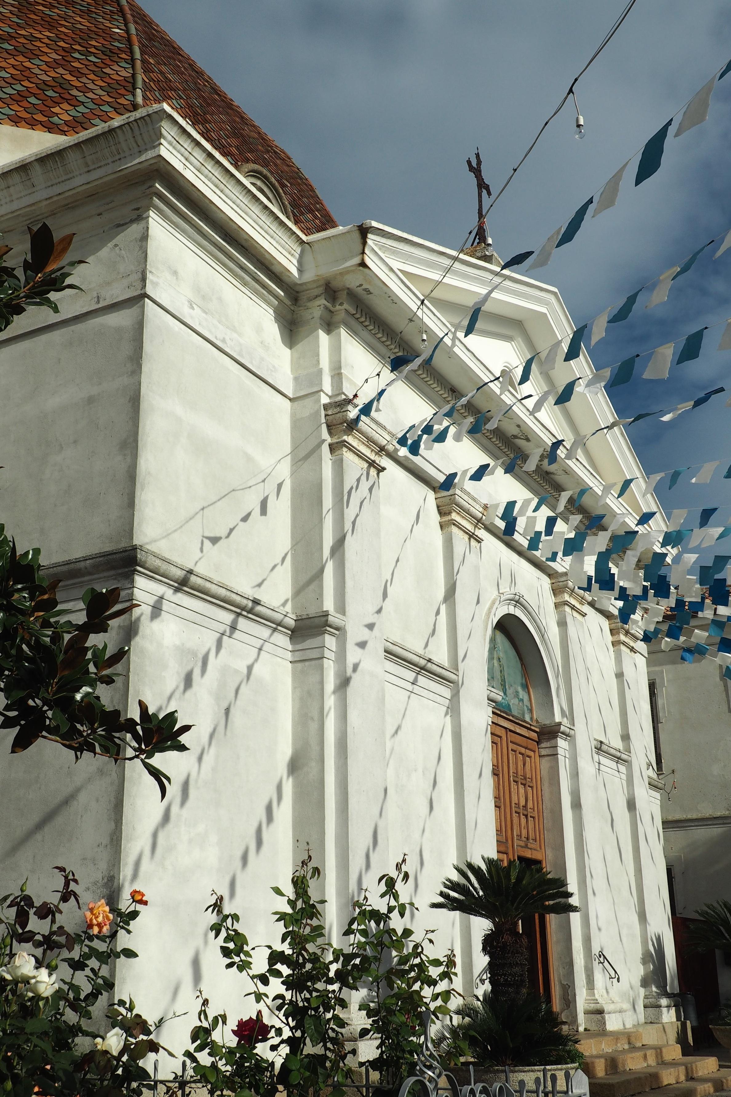 A catholic church in Burcei
