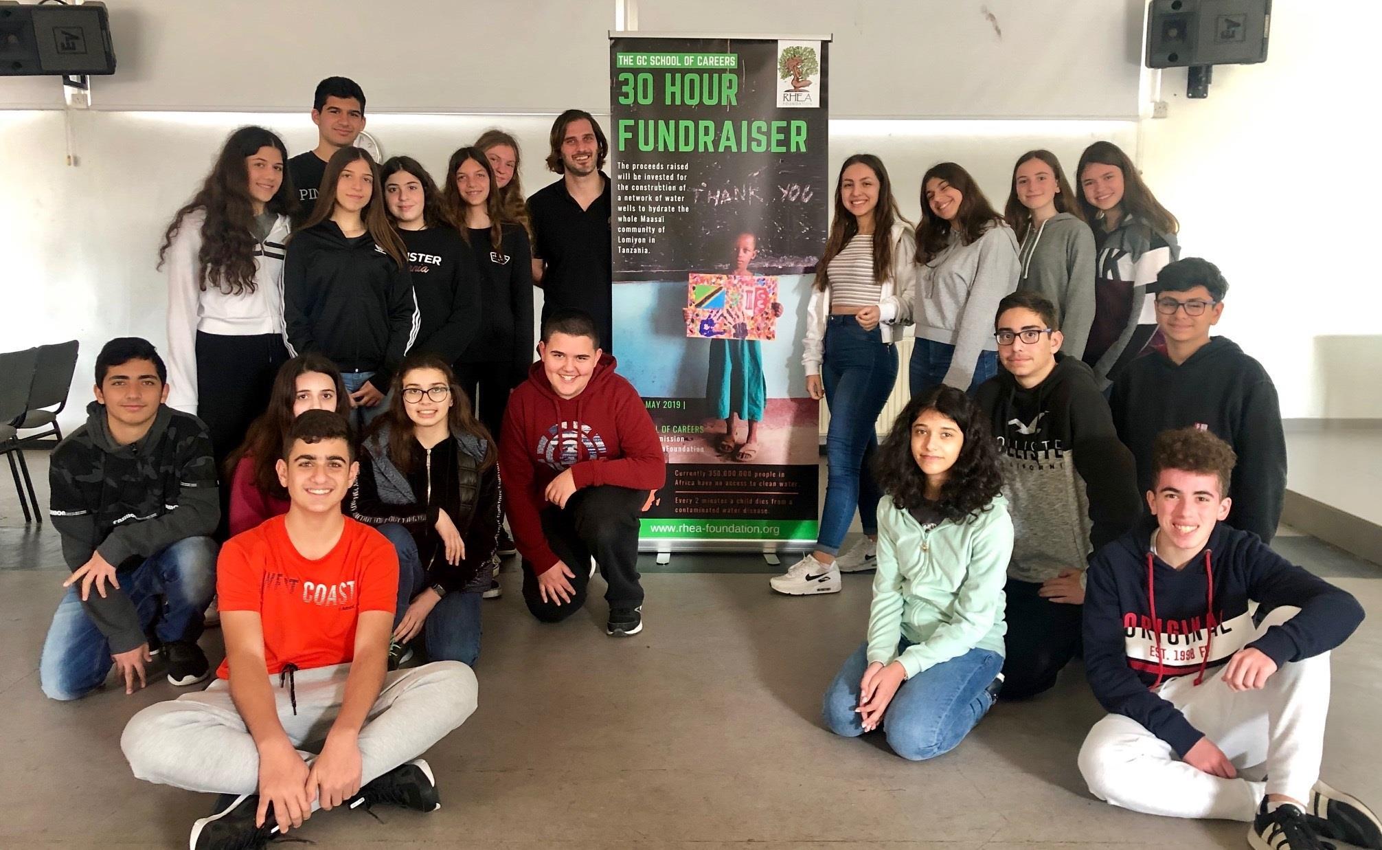 Λευκωσία, Κύπρος - 22 Μαρτίου, 2019   Σήμερα γιορτάζουμε την Παγκόσμια Ημέρα Νερού όπως ορίστηκε από τα Ηνωμένα Έθνη. Προς τιμήν αυτής της ξεχωριστής ημέρας οι μαθητές του 'Τμήματος Γεωγραφίας' του 'The GC School of Careers' ξεκίνησαν τη δική τους πρωτοβουλία για τη συγκέντρωση κεφαλαίων για τη δημιουργία μιας βιώσιμης πηγής νερού για την κοινότητα Maasai της Τανζανίας που καθημερινά χάνει τα παιδιά της λόγω ασθενειών που σχετίζονται με το μολυσμένο νερό. Πολλές ευχαριστίες σε αυτά τα εμπνευσμένα παιδιά και στους δασκάλους του Τμήματος Γεωγραφίας Λίντα Μουσουλίδης και Μαριάννα Θεοδότου που μας βοηθούν στο συντονισμό αυτού του εγχειρήματος.