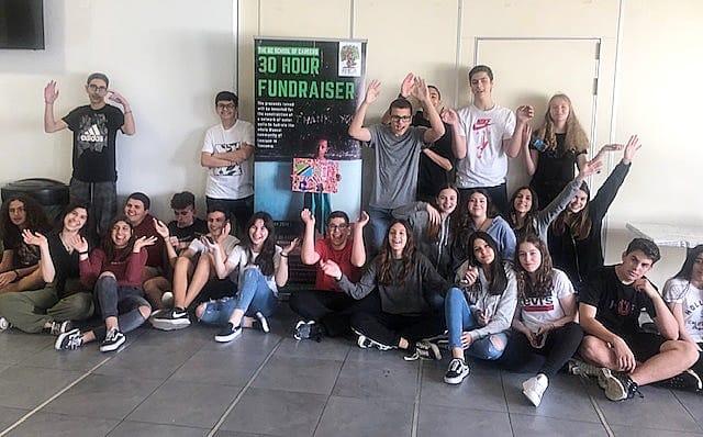 Λευκωσία, Κύπρος - 10 Μαΐου, 2019   Η 30ωρη απεργία πείνας από του μαθητές του The GC School of Careers έχει ξεκινήσει. Περισσότεροι από 30 μαθητές του σχολείου πραγματοποιούν απεργία πείνας από το πρωί και θα διανυκτερεύσουν μέσα στο σχολείο τους για να ευαισθητοποιήσουν τον κόσμο και να μαζέψουν κεφάλαια για την οικοδόμηση υδρευτικής υποδομής για την παροχή καθαρού νερού για την κοινότητα Λομιγιόν της Αφρικής στην Τανζανία η οποία χάνει καθημερινά τα παιδιά της από ασθένειες που σχετίζονται με το μολυσμένο νερό. Είμαστε πολύ υπερήφανοι για την πρωτοβουλία τους και τη βοήθεια τους. Ευχαριστούμε πολύ την K. Λίντα Μουσουλίδη και K. Μαριάνα θεοδότου του Τμήματος Γεωγραφίας για τον συντονισμό αυτής της εκδήλωσης.