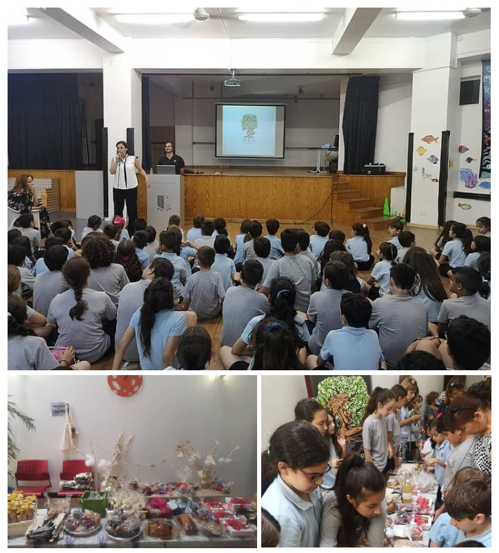 Nicosia, Cyprus - June 21, 2019   It's always a pleasure to show the future generations of Cyprus where their fundraising efforts are invested and the impact their actions are making to the lives of children of the same age born in less favorable conditions than them. A big thank you to στο 'The GCSchool of Careers' for organizing the fundraising event with cakes, biscuits and lemonade made by the students and their parents. Much love from all the children of the Lomiyon community in Africa.