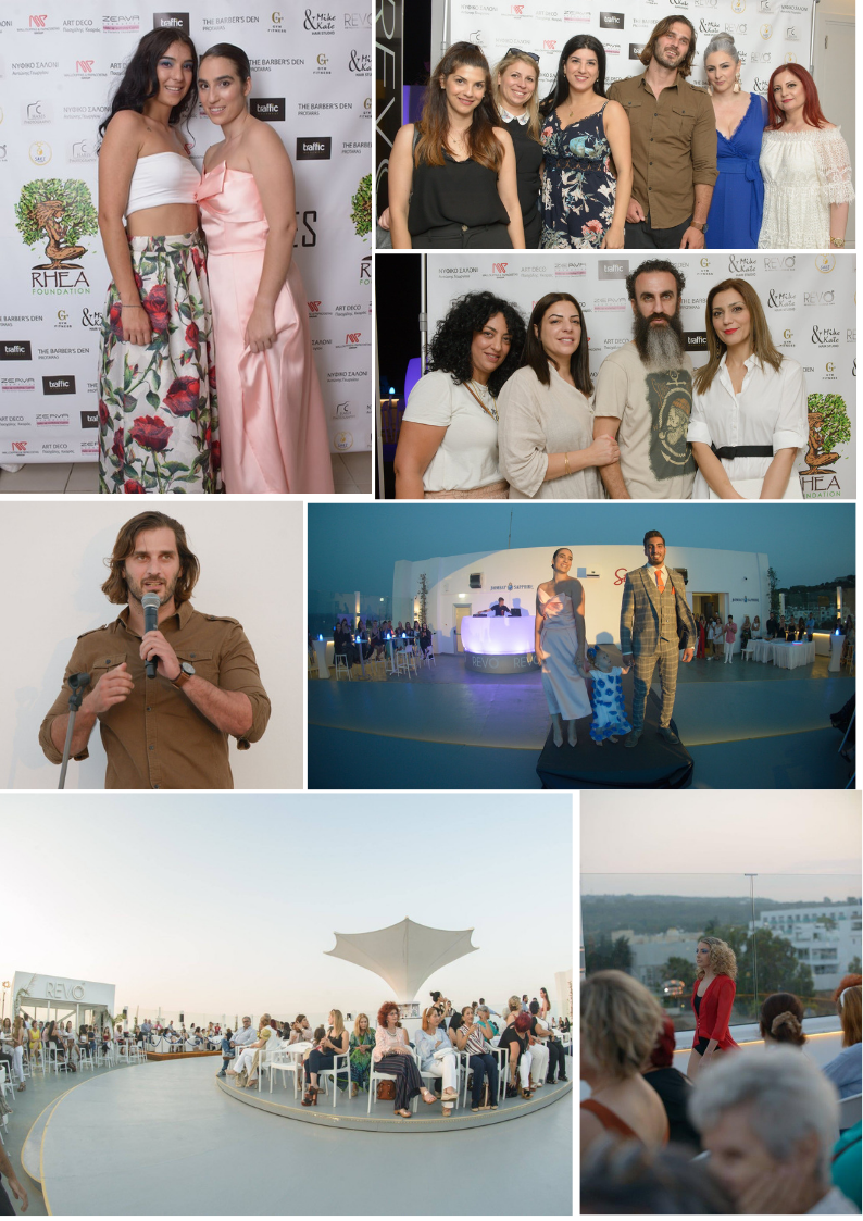 Protaras, Cyprus - June 26, 2019   Warm thanks from all our team to Maria Kosma for her amazing fashion show and fundraiser at REVO Revolving Lounge Bar in Protaras. We guarantee that in the coming weeks, all her efforts and those of her team will increase the quality of life of people in Africa born in less favorable conditions than us. Much love from all the Foundation and the families of the Lomiyon Community of Tanzania that will benefit from your actions.