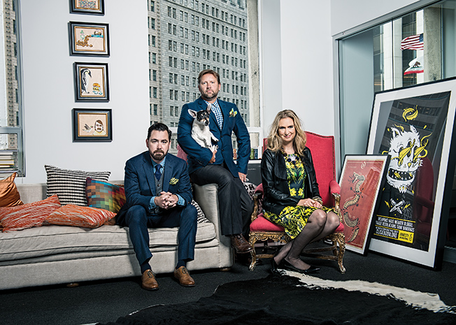ADWEEK: THIS SAN FRANCISCO INDIE AGENCY TAKES CONSUMERS DEEP INTO THE BRAND-BUILDING PROCESS   Odysseus Arms sees value in 'working with strangers'.   Read More >