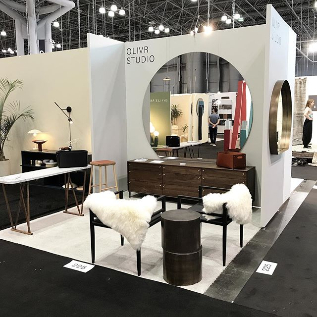 We here!!! Day 1  @icff_official  Booth 225. Come say hi and bring a coffee please. ☕️🤞