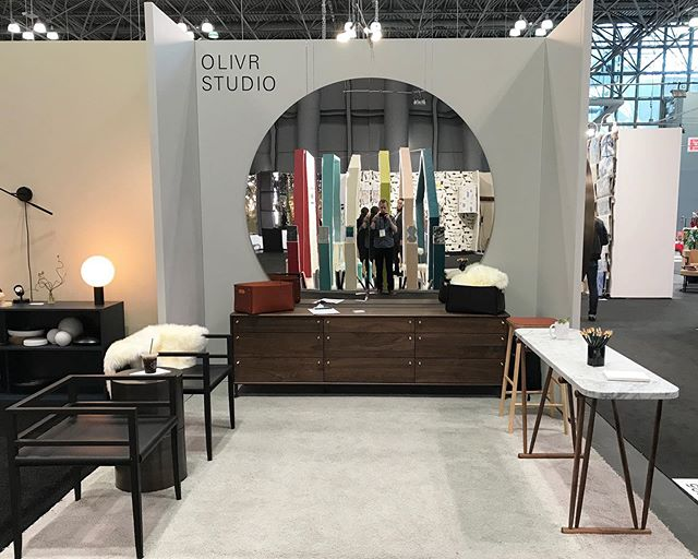 Last day @icff_official to come see all our new pieces in person. Today is open to the public 👋