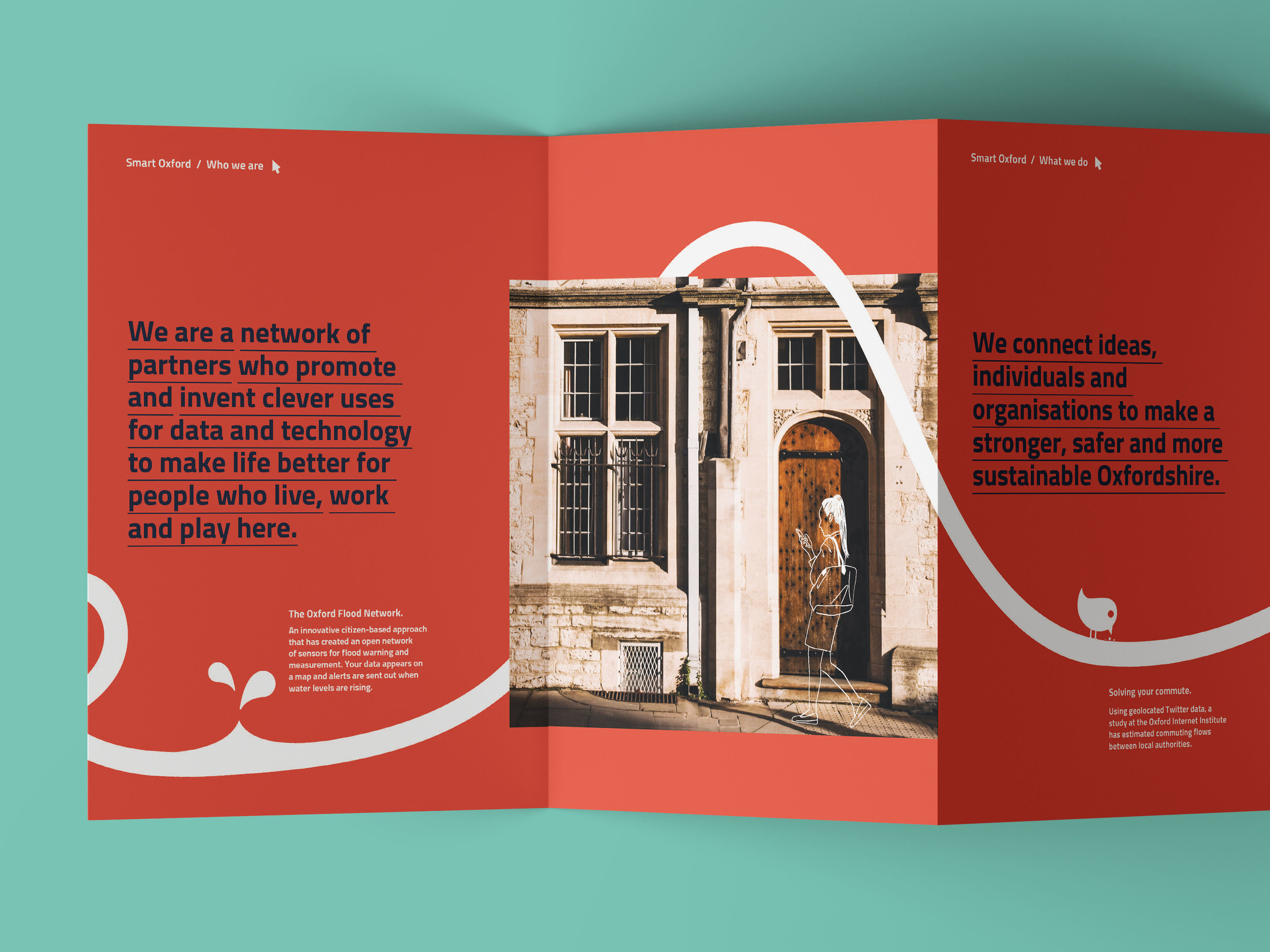 Laura Whitehouse Freelance Graphic Designer Edinburgh Smart Oxford Leaflet Marketing Design