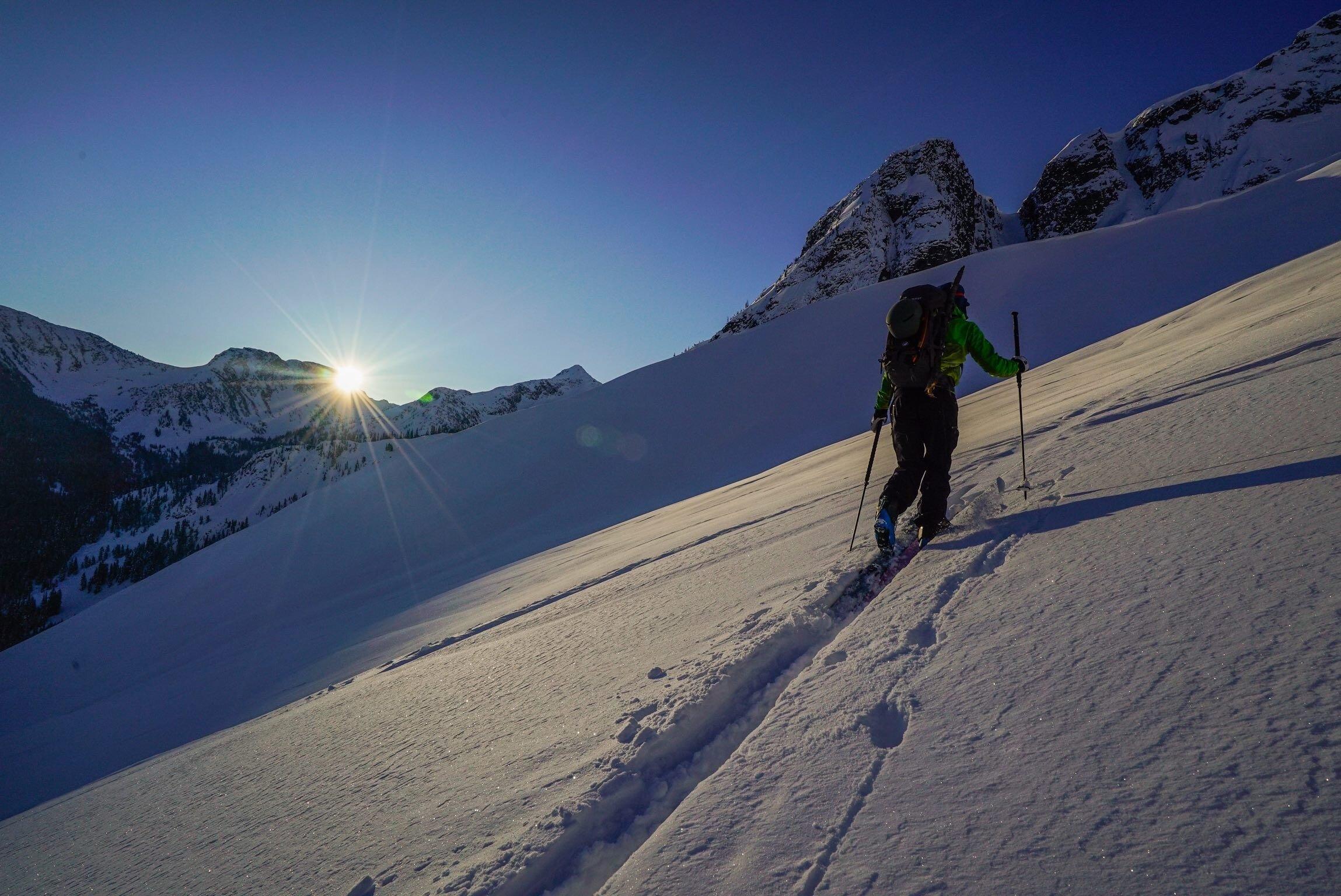 Morning on Joffre Peak //  [o] @bjarnesalen